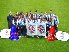 Dalek Olympics 2012  Gymnastics Team GB (IBiAFoddoAbbarad) Tags: swimming team gymnastics dalek olympics 2012 not