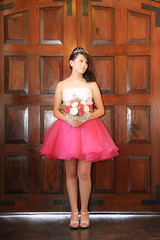 Quinceanera session-33 (Fearless Wedding Photography) Tags: birthday pink roof girl sunglasses lady youth ramp chica dress balcony young 15 teen hispanic latina diva quinceanera