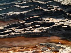La charca de los clicos, Lanzarote (envisionpublicidad) Tags: verde islands lanzarote playa canarias arena canary negra islas golfo volcan charco charca clicos olivina