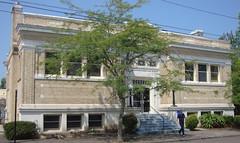 Carnegie Library (Albany, Oregon) (courthouselover) Tags: oregon or carnegielibraries libraries linncounty albany northamerica unitedstates us
