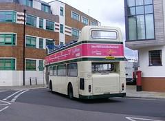 Xelabus 702 (PD3.) Tags: old uk england bus buses island open top spice hard hampshire topless portsmouth alexander quays topper southsea lothian leyland xela psv pcv 702 gunwharf devonian bfs hants 14l atlantean 9571 gjz bfs14l gjz9571 xelabus augusttoil