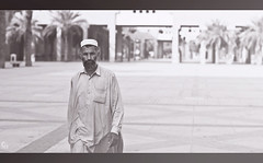 Concerns (Abdulkreem Al-delaigan | ) Tags: life portrait canon photography flickr riyadh  2012     blackwhitephotos    abdulkreem aldelaigan