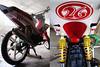 honda xrm125 underneath (macarhign) Tags: honda offroad motorcycle underneath motard xrm hondaxrm125 xrmmotard macarhign fairingdesign redandwhitexrm xrmoffroad
