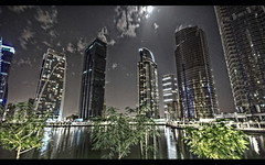 Dubai by night - JLT (A.K. Photography.) Tags: travel night nikon dubai uae jumairah