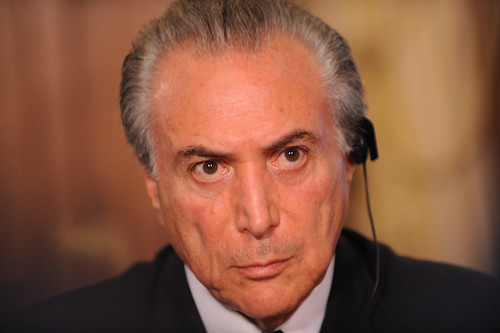 Michel Temer, Installed President of Brazil