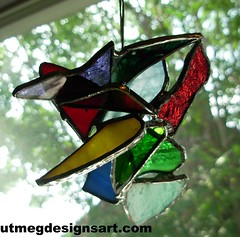 One for a friend (stratoz) Tags: friends light red green art glass colors way that this 3d stainedglass gift multiple designs hanging nutmeg waynestratz