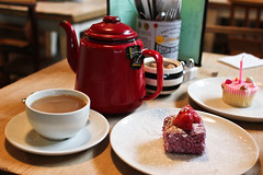(paul__williams) Tags: birthday digital brighton bills twinings cupcake 34 lamington breakfasttea
