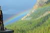 Rainbow over Mammoth (skipants60) Tags: mountains nature outdoors rainbow mammoth yellowstone roygbiv nikond7000