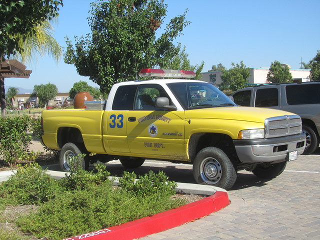 california truck fire dodge ram ventura v8 2500