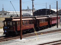 Little yard of the BIG Red Cars (ATOMIC Hot Links) Tags: california losangeles flickr chinatown santamonica 110 malibu 405 socal hollywood future oldfashion present beverlyhills venicebeach watts backintheday southerncalifornia unionstation earthquakes past oldies freeways tinseltown skidrow thejungle lacounty crenshaw steamengines randysdonuts eastla redcars hollywoodland ghettobird oldiesbutgoodies the10 helmsbakery ourgang oldlosangeles moviestudios thelittlerascals olveriastreet bigredcars woddysbarbq shakytown cruznites ladowntownla pacificelectricredcars wattslocal
