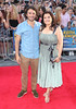 Nina Wadia and Marc Elliott 'Keith Lemon the Film' World premiere held at the Odeon West End
