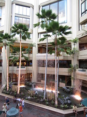 Lobby of Hyatt Regency at Waikiki (B.o.A) Tags: vacation beach floors hawaii hotel waikiki oahu lobby palmtree diamondhead hyatt hi honolulu hotels waikikibeach kalakaua hyattregency