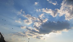 heaven help us. (cat robbins) Tags: sunset sky cloud sun rays
