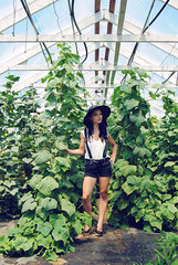 Green House (NEW|photography) Tags: flowers summer hot hat ma model farm massachusetts newengland greenhouse heat mass suspenders bridgewater