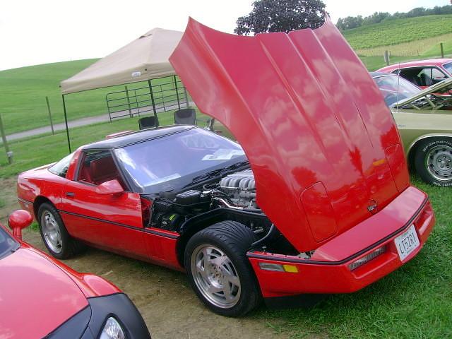 chevy corvette 1990 carshow c4 zr1 lt5 mtairymd berrywineplantation linganorecellars crossfiresofmaryland