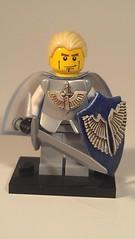 Prince Imrahil of Dol Amroth (blokeonarope) Tags: lego lotr knights warhammer customized lordoftherings tolkein minfigure dolamroth