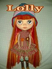 Lolly got a new dress