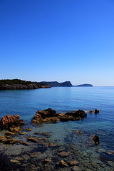 Blue Gradients (dale.kirkwood) Tags: ibiza travel canon balearic balearicislands
