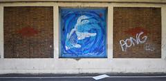 Fish (HBA_JIJO) Tags: streetart urban vitry vitrysurseine pochoir stencil animal art france stew hbajijo wall mur painting peinture poisson paris94 spray fish