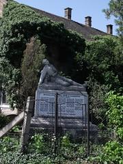 World War I Memorial, Mtyshalom, Hdmezvsrhely, Hungary (Norbert Bnhidi) Tags: hungary hdmezvsrhely mtyshalom statue sculpture szobor ungarn hungra hongrie ungheria hungria hongarije  magyarorszg