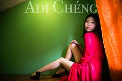 Adi_0039 (Adi Chng) Tags: adichng girl      redgreen