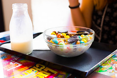 Cereal time! (AkJardo) Tags: cereals milk food colors