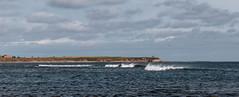 Beadnell Beach (Roger Hanuk) Tags: beadnell breakers england headland kodakektar northumberland sea seascapes xequals unitedkingdom