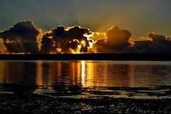 DSC_0014 (RUMTIME) Tags: sunrise sky water nature bay coochiemudlo coochie queensland