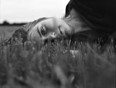 Friederike (Juliet Alpha November) Tags: ilford delta 100 analogue analog medium format mittelformat film rollfilm 120 645 portrait portrt face gesicht eyes augen bokeh outdoor jan meifert