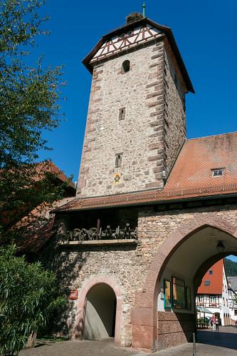 Storchenturm à Zell am Harmersbach
