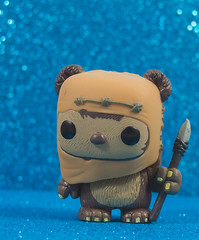 Wicket Warrick (CptSpeedy) Tags: funko pop starwars returnofthejedi roj ewok cute adorable bear furry spear endor toy luke leia vader han chebacca warrior