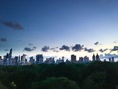 Sunset in Central Park (Rodolfo Perez) Tags: skyline met sunset nyc centralpark