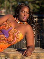 African queen in New-York (estellerobertnyc) Tags: nyc newyork africanqueen afrohair blackbeauty blackhair ete portrait summer