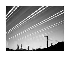 CHEMTRAILS (krisztian brego) Tags: olympus omd em10 mzuiko digital 25mm f18 budapest szll klmn square tr m2 metro subway station sky streetlight reflection