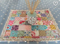 New blog post if you fancy a read at www.francine-patchworkandlace.blogspot.com (patchwork and lace) Tags: patchworkandlace handmade patchwork cathkidston shabbychic