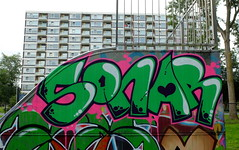 Graffiti Delft (oerendhard1) Tags: graffiti streetart urban art delft middenberm sonar
