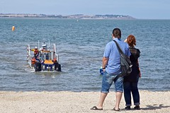 Talus MB-4H RNLI Tractor (Nexus Nine Photography) Tags: whitstable england coast coastal seaside kent beach rnli