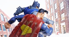 It's way past time you learned what it means to be A MAN (kevchan1103) Tags: mattel dc multiverses comics frank miller collectibles the dark knight returns dkr batman bruce wayne clark kent armored toys action figure superman