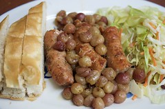 IMGP2727 (Fan Majie ) Tags: food sausage grapes