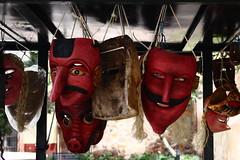 Máscaras (renedelagza) Tags: masks mascaras zacatecas devil efs1855mmf3556is kitlens canoneosrebelxsi artesaniasmexicanas artesania craft