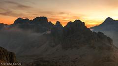 Sunrise from Lagazuoi (SILK61) Tags: cortinadampezzo veneto italia it