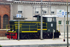 Class 245.2100 No. 245.2176 on 1 June 2012 (A Scotson) Tags: venice italy diesel trieste fs trenitalia shunter italianrailways venetsia class245