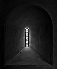 St Mary Window - East Worlington (Gary Baldy) Tags: blackandwhite church window pentax devon stmary k20d eastworlington