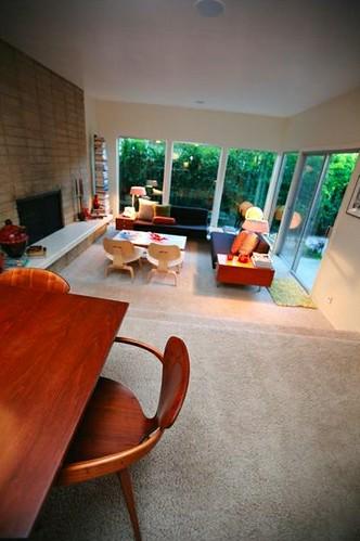 SacMod co-founder Kris Lannin Liang & Michael Liang's living room
