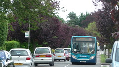 The 35 that's always late... (bobsmithgl100) Tags: school bus drive buh journey alexander dennis horsell route35 4020 meadway enviro200 gn58 arrivaguildfordwestsurrey gn58buh