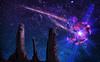 The Meteor (FaisalGraphic) Tags: meteor faisal خيال ispiration فيصل صحراء ليل نجوم الهام الغامدي كوكب alghamdi فضاء themeteor شهاب نيزك faisalgraphic فيصلالغامدي faisalalghamdi