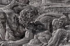 Estatua de Marques e suas Reformas (miza monteiro) Tags: portugal lisboa estatua marquesdepombal
