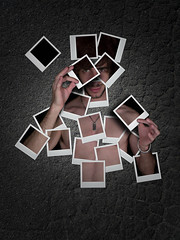 to have a name for (Buzzi Pietro) Tags: art me photoshop polaroid photo creative puzzle adobe frame express behind masked asphalt pietro cs4 buzzi cs6 cs5 photoshopcs6 buzzipietro pietrobuzzi