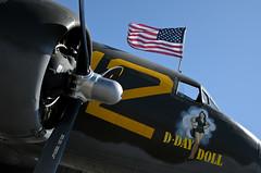 D-Day Doll (Trent Bell) Tags: california anniversary flag aircraft americanflag celebration airshow socal orangecounty irvine 2012 c53 greatpark skytrooper ddaydoll