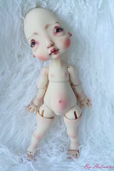 Commission faceup and body blushing for 6luciole (heliantas) Tags: doll body handmade bjd kane humpty dumpty commission blushing faceup nefer
